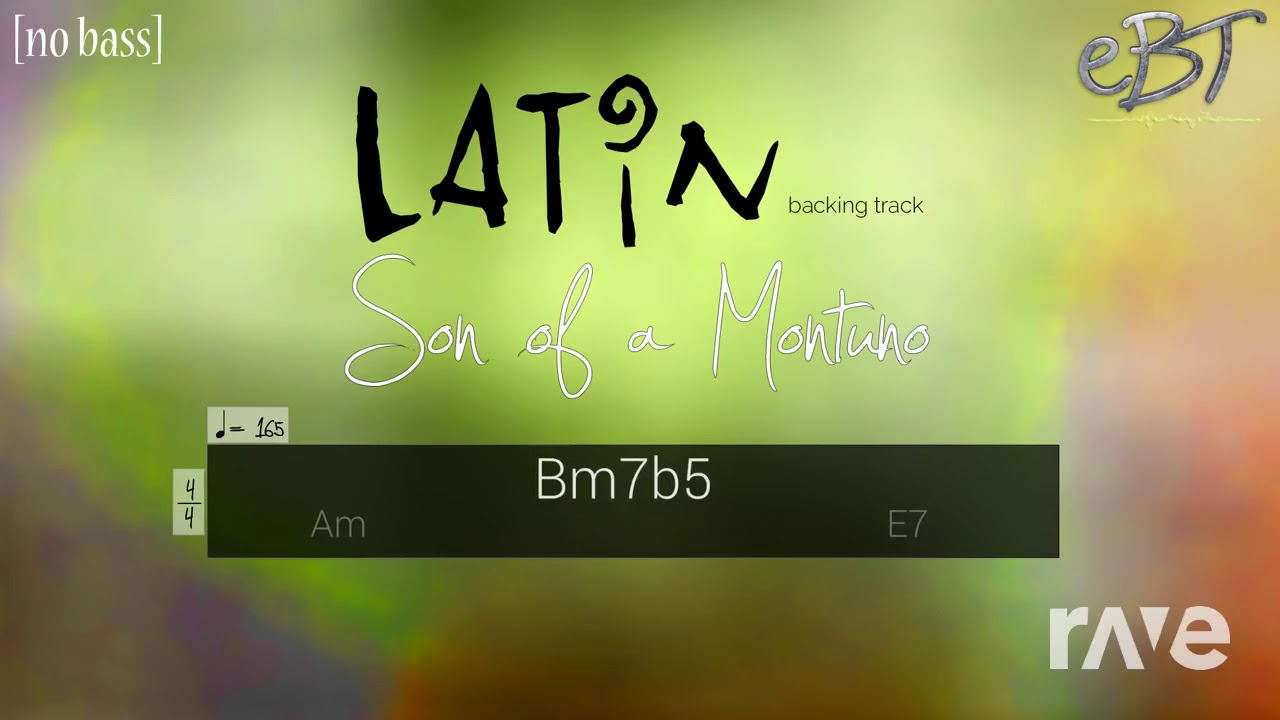 165 Acapella - Latin Backing Track In A Minor & Ty Buchanan