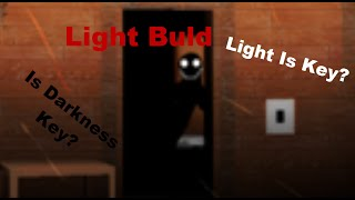 Roblox Light Buld-Lights Are The Key?
