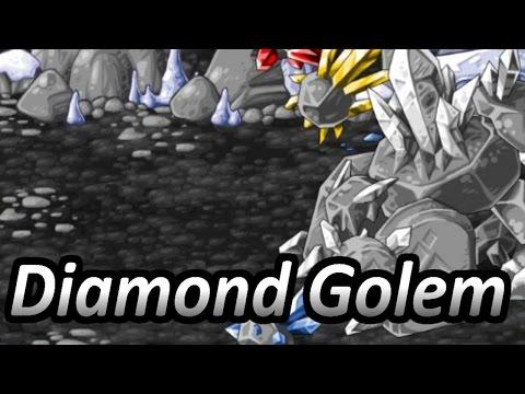 Epic Battle Fantasy 4 (Steam) - Diamond Golem [Epic Mode]