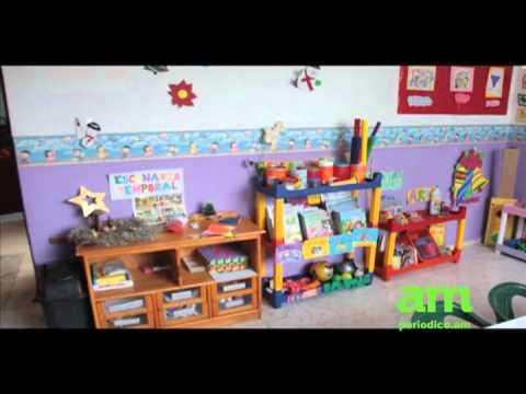 Estancia infantil carmen serdan youtube - Dibujos pared habitacion infantil ...