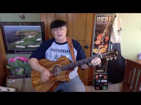 2182 -Shotgun Wedding- Jason Isbell cover -Vocal & acoustic guitar & chords