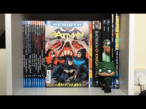 DC Rebirth Collection So Far