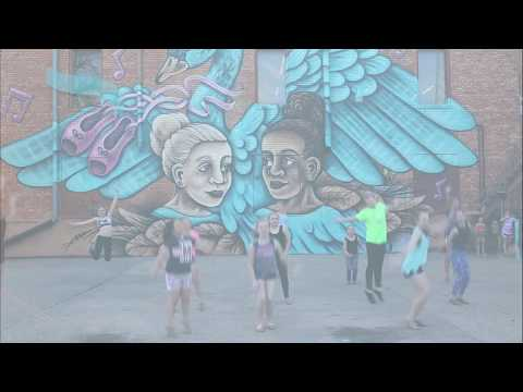 Street Dance Graffiti Spray Paint Mural Art Video