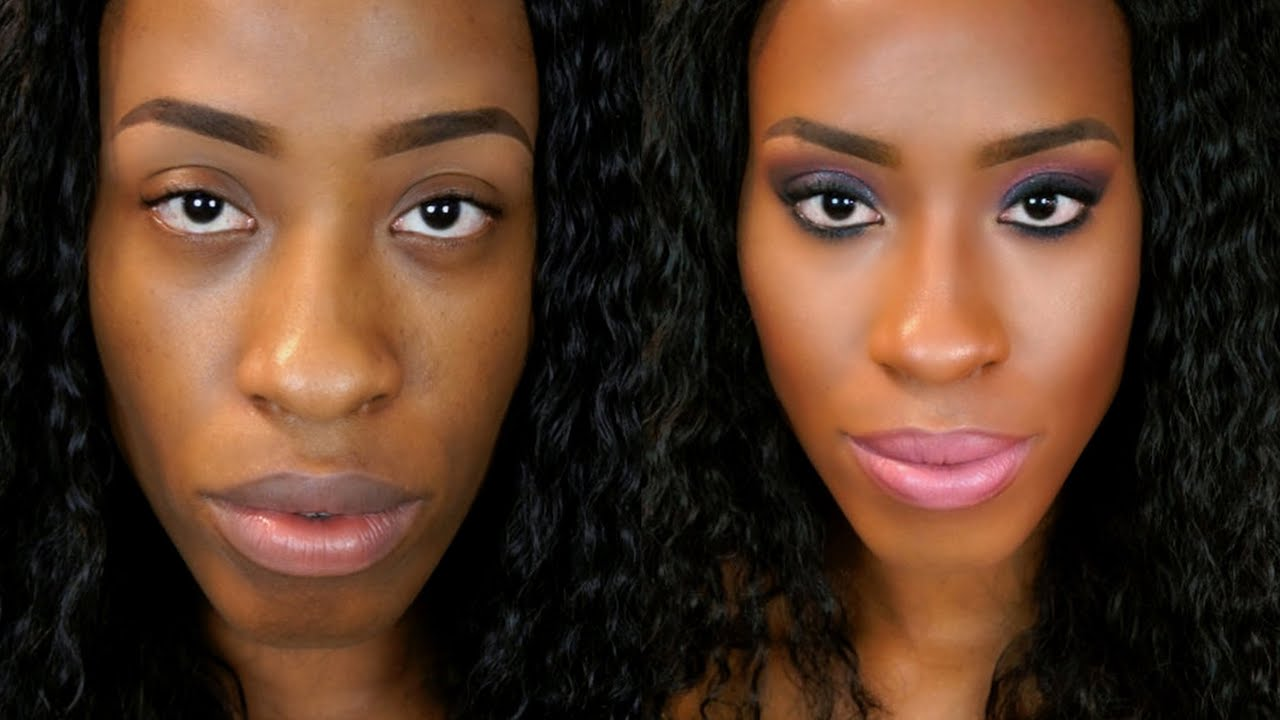 contour makeup kit for dark skin. contouring \u0026 highlighting │anastasia contour kit (detailed) for black women - youtube makeup dark skin k