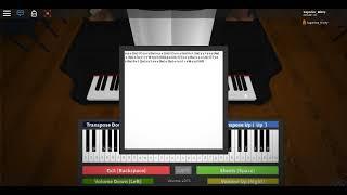 Virtual Piano (Roblox) Phantom of the Opera