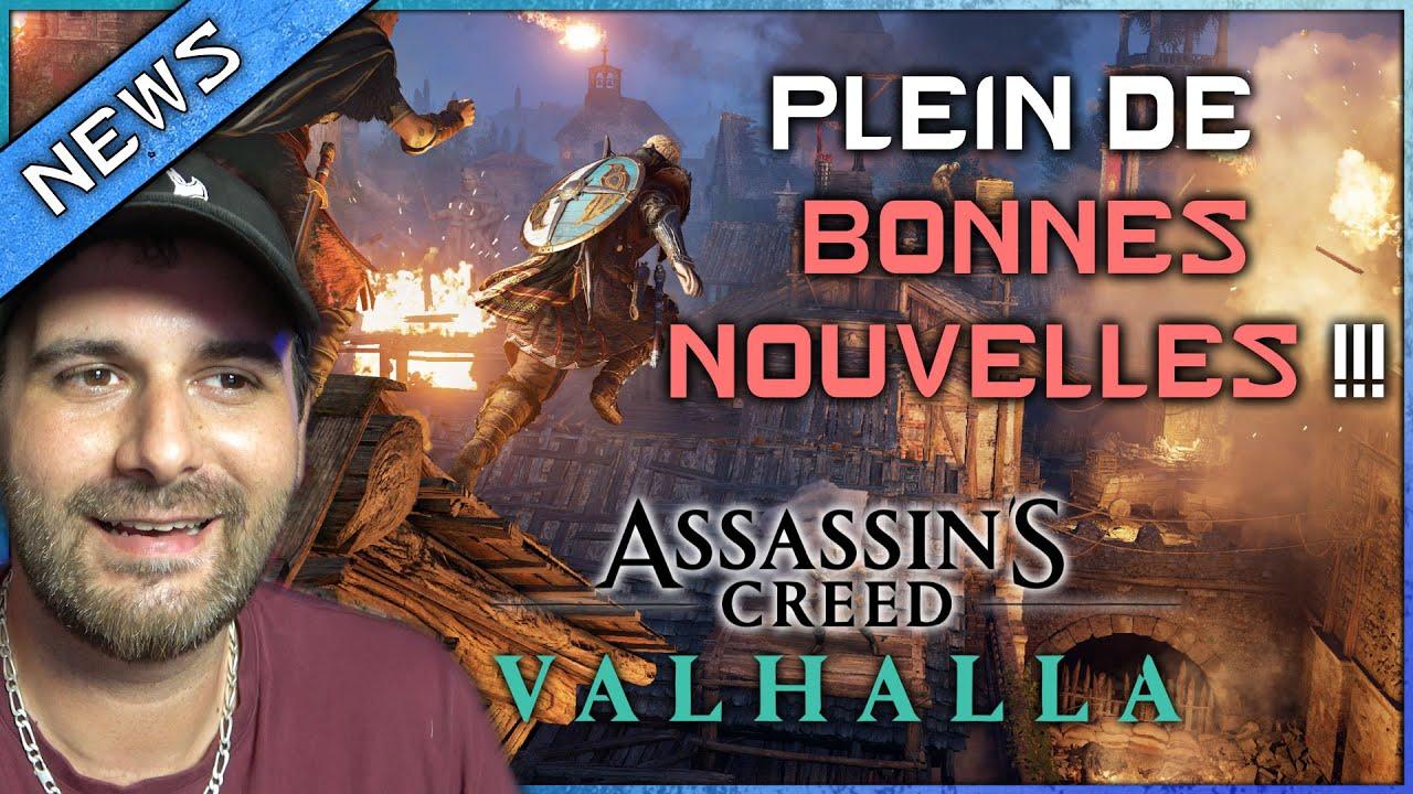 OFFICIEL ! Retour ASSASSINATS BLACK BOX ! DATE DLC et SAISON 3 et bien + ! ASSASSIN'S CREED VALHALLA