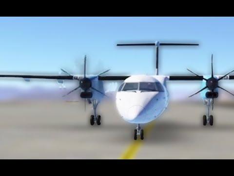 Infinite Flight Global - Dash 8-Q400 Engine start! [MUST WATCH]