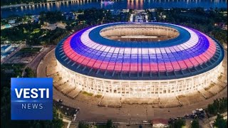 Moscow Has Become the Stadium for Soccer, But Also Arena for Political Talks Between World Leaders