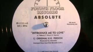 Absolute - Introduce me to love (original UK version)