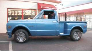 1970 Chevrolet Shortbed Pickup for sale with test drive, driving sounds, and walk through video