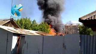 В центре Кокшетау сгорел дом(1 июня в центре Кокшетау сгорел дом Спасатели ДЧС Акмолинской области тушили пожар в самом центре города..., 2015-06-01T15:33:50.000Z)