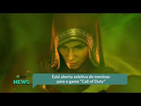 "Está aberta seletiva de meninas para o game ""Call of Duty"""