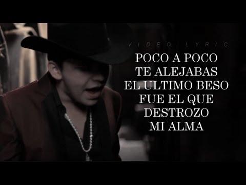 (LETRA) ¨TE FALLE¨ - Christian Nodal (Versión Acústica) (Lyric Video)