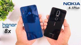 Honor 8x vs Nokia 6.1 Plus Speed Test & Comparison [Urdu/Hindi]