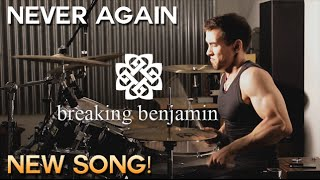 Breaking Benjamin - Never Again - Drum Cover