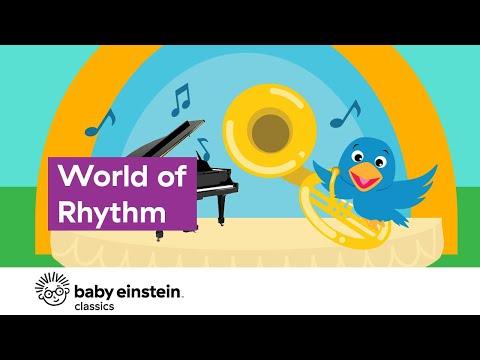 Baby Music For Playtime | World of Rhythm | Baby Einstein
