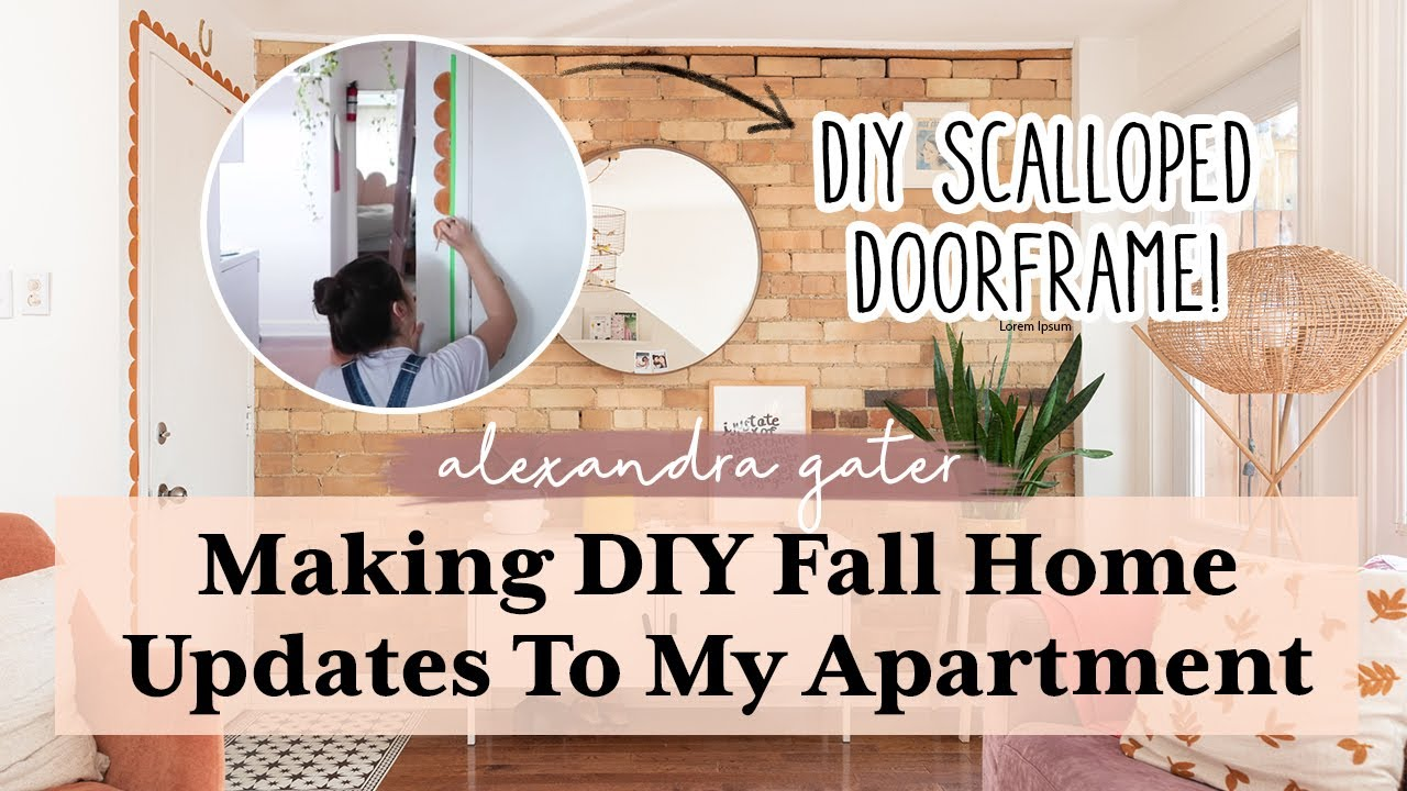 DIY Fall Home Updates + I Was On The News!   Week In My Life Vlog