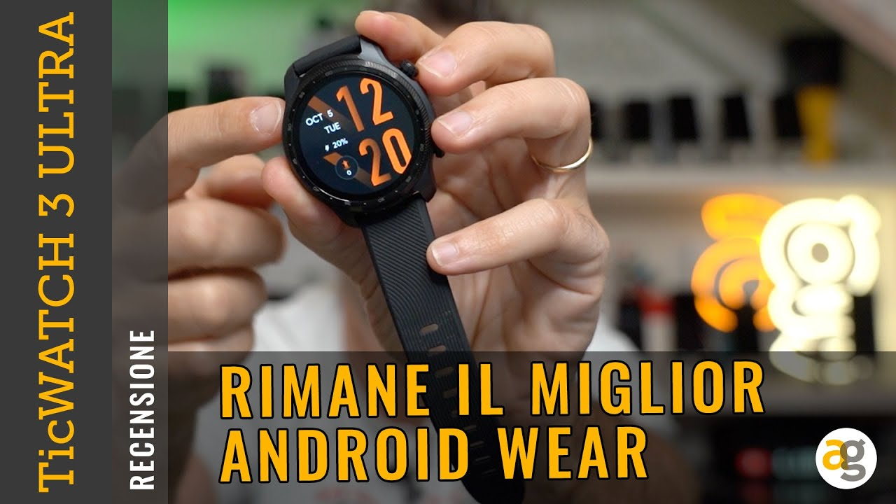 Download TicWATCH 3 ULTRA GPS. Rimane Il MIGLIOR ANDROID WEAR.