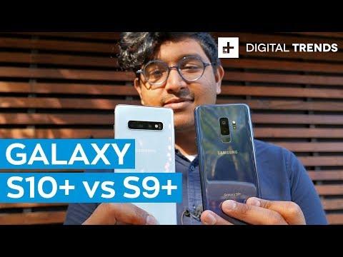 Samsung Galaxy S10 Plus vs Galaxy S9 Plus: Comparison