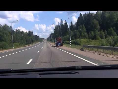 Великий Новгород - Вышний Волочёк / Velikiy Novgorod - Vyshniy Volochyok 28/07/2014 (timelapse 4x)