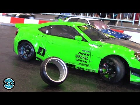 RC DRIFT CARS 1/10 ACTION & RC CRASH🎯 EuroModell Bremen 2017