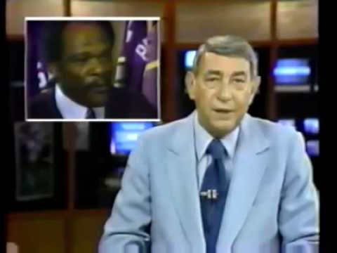 Howard Cosell - Cocaine in NFL Football - 1982 Carl Eller interview on ABC Sportsbeat