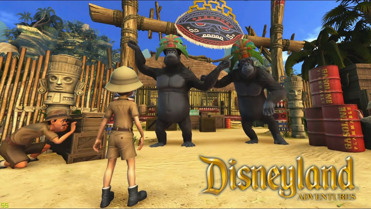 Jungle Cruise Jeux Video De Dessin Anime En Francais