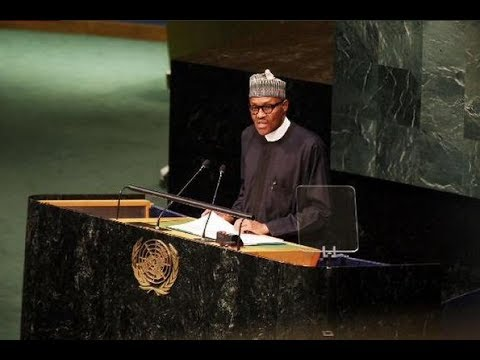 NIGERIA PRESIDENT AT 72 UN MEET 2017: SEE ALL BUHARI'S ACTION AT 2017 UN MEETING TODAY.