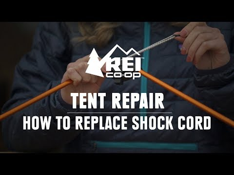 How to Replace the Shock Cord in a Tent Pole || REI