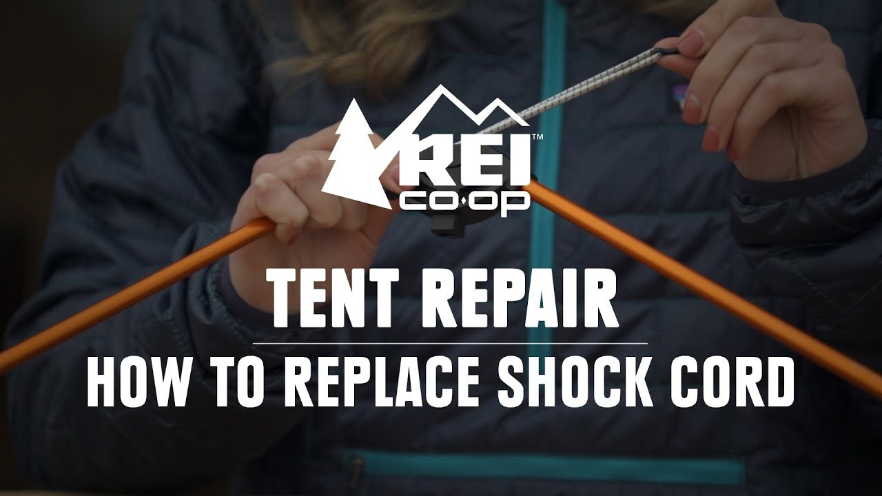 How to Replace the Shock Cord in a Tent Pole || REI & How to Replace the Shock Cord in a Tent Pole || REI - YouTube