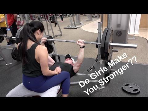 Girl On Lap Bench Press Does It Work Oliver Ta