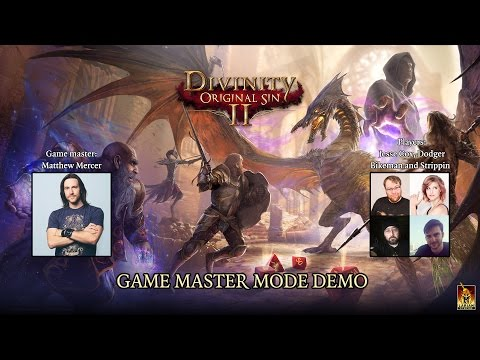 Divinity: Original Sin 2 Game Master Mode hosted by Matt Mercer