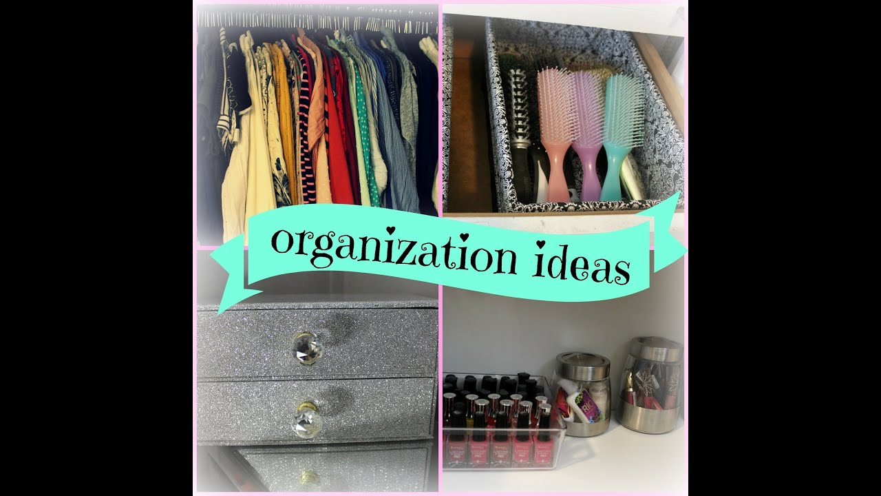 Easy Ways To Organize Decorate Your Room Youtube