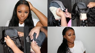 How To Make A Lace Frontal Wig | VERY DETAILED! | Zhoumei Beauty Hair