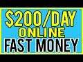 Make Money Online FAST! 5 Ways To Earn Fast Money 2019