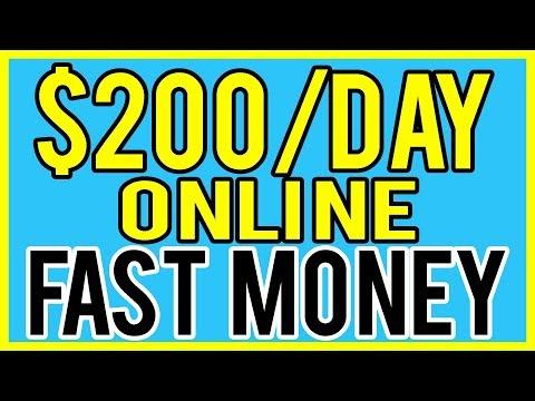Make Money Online FAST! 5 Ways To Earn Fast Money 2019