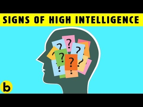 10 Signs That You Are Highly Intelligent