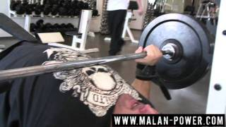 Malanichev. The 2nd benchpress training in the new season. 16 february 2011.