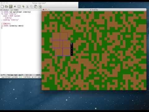 Common Lisp Simcity clone