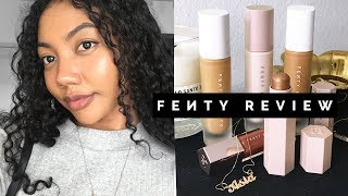 FENTY BEAUTY BY RIHANNA REVIEW | Asia Jackson