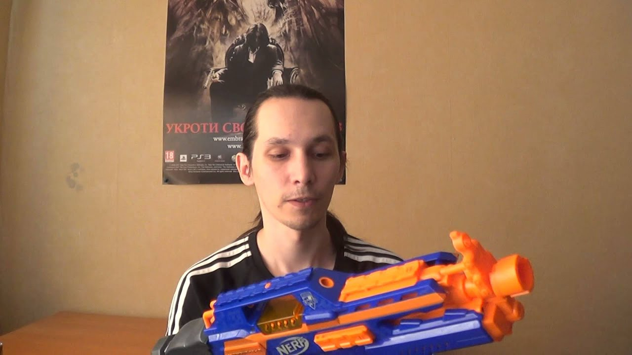 Бластер Нерф Мега Центурион | Nerf Mega Centurion - YouTube