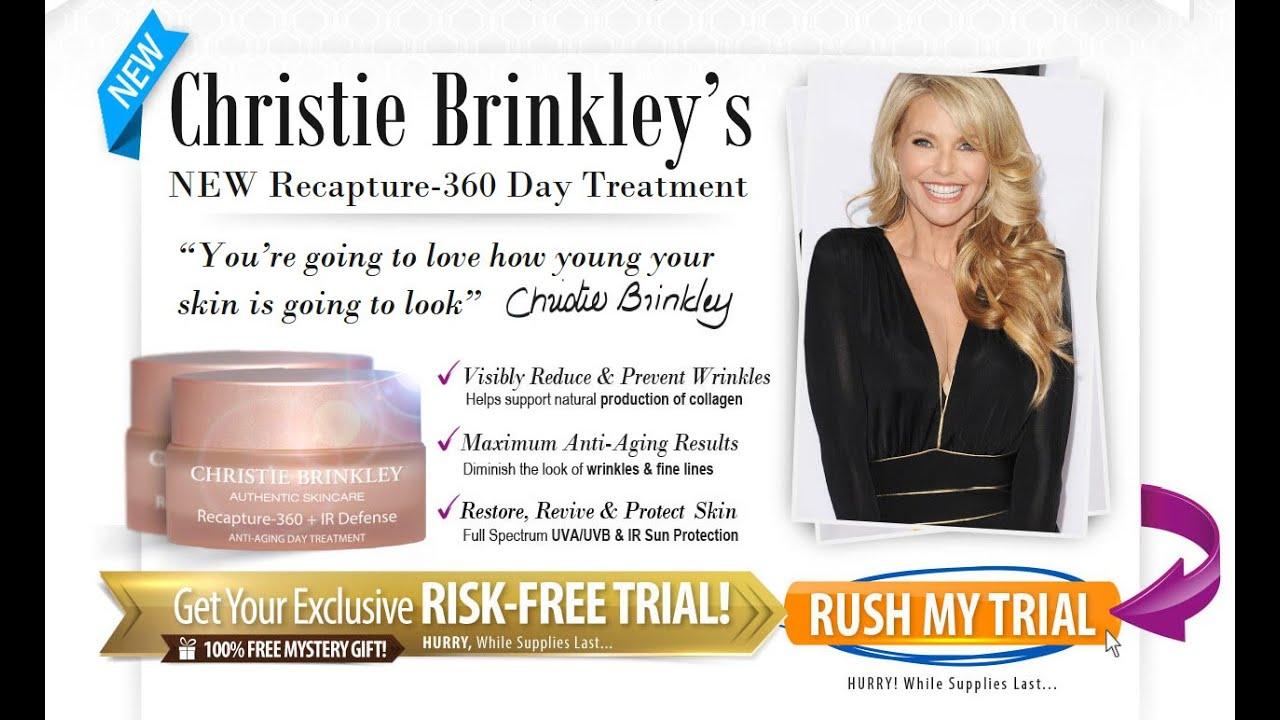 Christie Brinkley Skin Care Free Samples Youtube