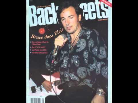Bruce Springsteen Backstreets Magazine Tribute