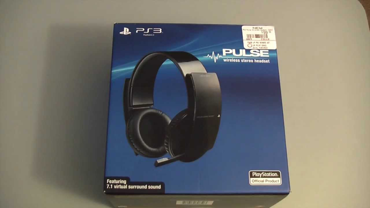 Sony playstation stereo wireless headset 2. 0 (ps4/ps3/ps vita.