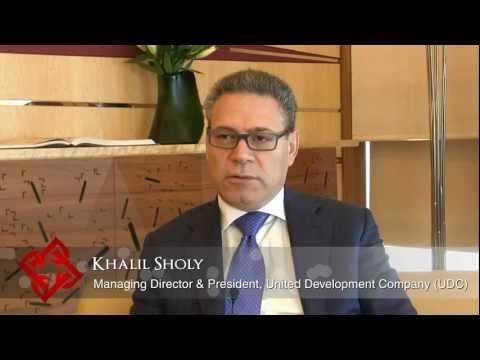 Executive Focus: Khalil Sholy, Managing Director and President, United Development Company (UDC)