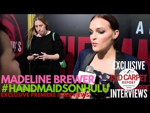 Madeline Brewer ed at Hulu's The Handmaid's Tale LA premiere NowStreaming HandmaidsOnHulu