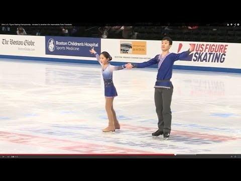2014 U.S. Figure Skating Championship - Intermediate Pairs Freeskate
