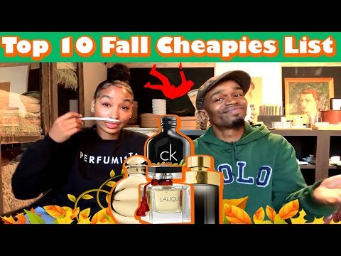 Top 10 Fall / Autumn Fragrances List under $35 | Judged by Tiff Benson