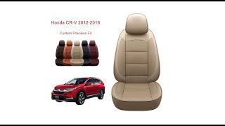 Oasis Auto Honda CRV seat cover installation-Custom Fit