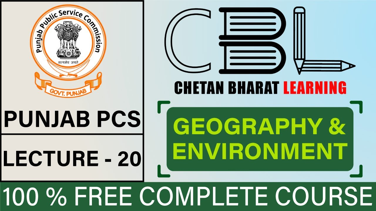 Lecture 20 | Aquatic Ecosystems | Geography & Environment | PCS